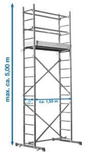 Krause CORDA® Montagegerüst - Heimwerker Gerüst