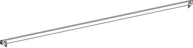 Hymer Fahrgerüst - Diagonale aus Aluminium 1.67