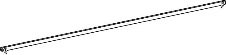 Hymer Fahrgerüst - Diagonale aus Aluminium 2.04