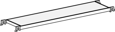 Hymer Fahrgerüst - Einstiegsbühne 607144