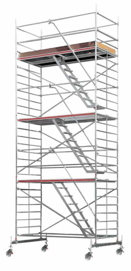 HYMER SC 60 Treppen-Fahrgerüst 6273 mit Fahrbalken