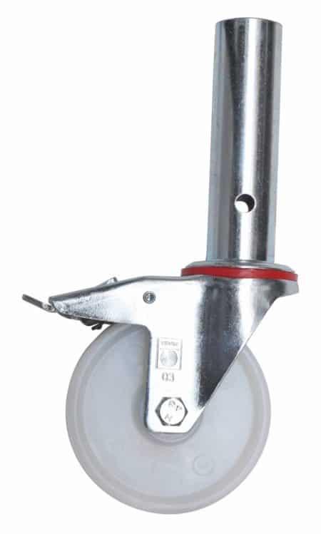 Hymer Gerüst - Lenkrolle Ø125 mm ohne Spindel