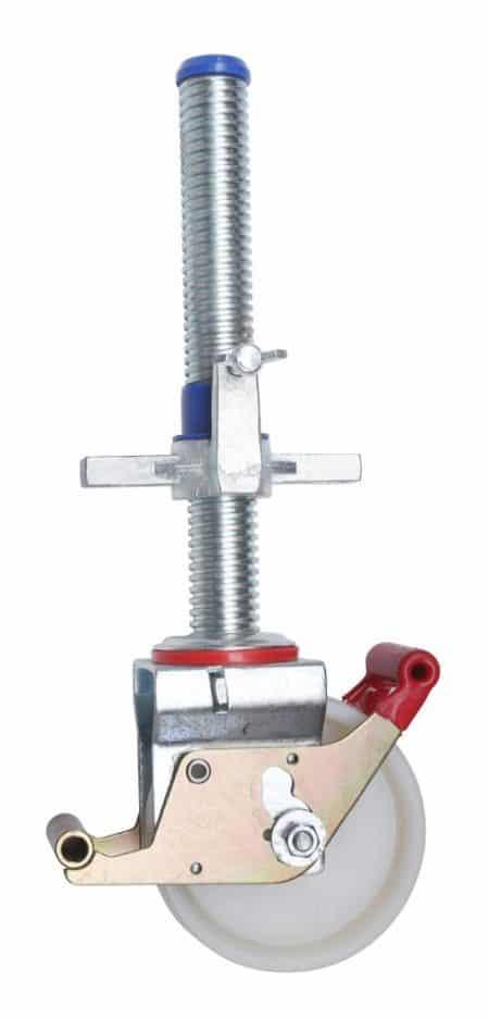 Hymer Fahrgerüst - Lenkrolle Ø 150mm mit Spindel