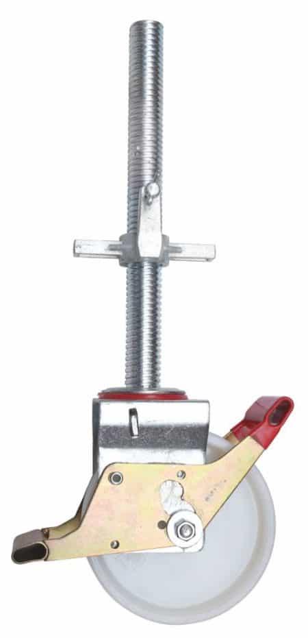 Hymer Fahrgerüst - Lenkrolle Ø 200mm mit Spindel