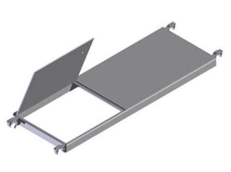 Zarges Fahrgerüst Z500 COMPACT - Plattform mit Durchstiegsklappe