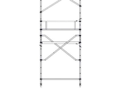Zarges Z600 Plattformdiagonale für 1.80 m Gerüstlänge