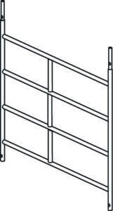 Hymer Fahrgerüst-Rahmenteil 4 Sprossen 1.50x1.15