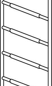 Hymer Fahrgerüst - Rahmenteil aus Aluminium mit 6 Sprossen
