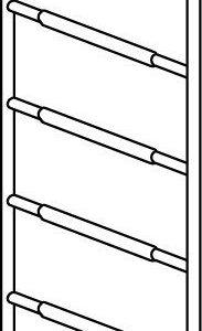 Hymer Fahrgerüst - Rahmenteil 8 Sprossen 7009422