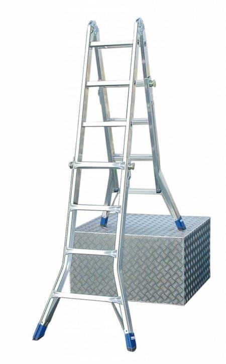 Krause Stabilo® Professional Sprossen-Gelenk-Teleskopleiter