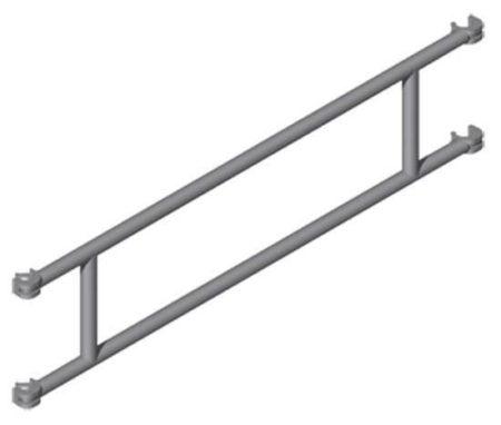 Zarges Z600 Geländer 1.80m x 0.75m – 42955